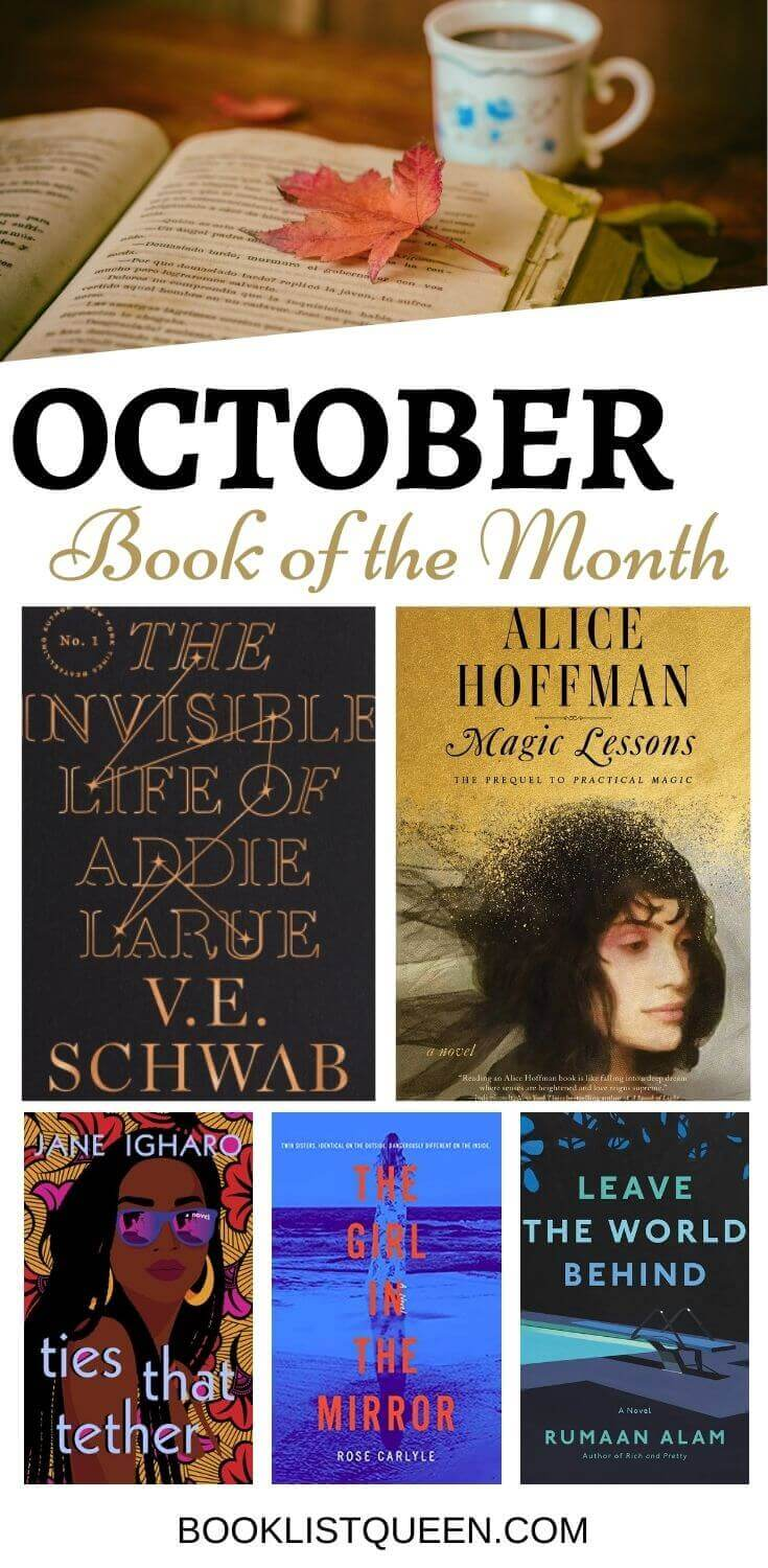 October 2020 Book of the Month Selections