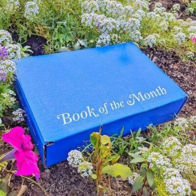 blue Book of Month box in Flowers