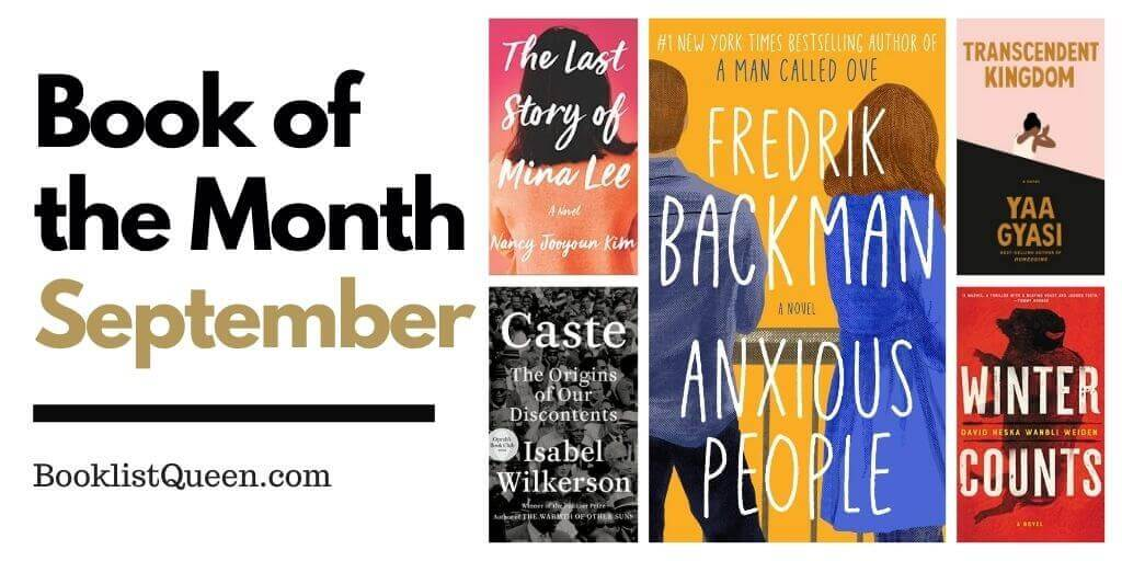 Book of the Month September 2020 Selections