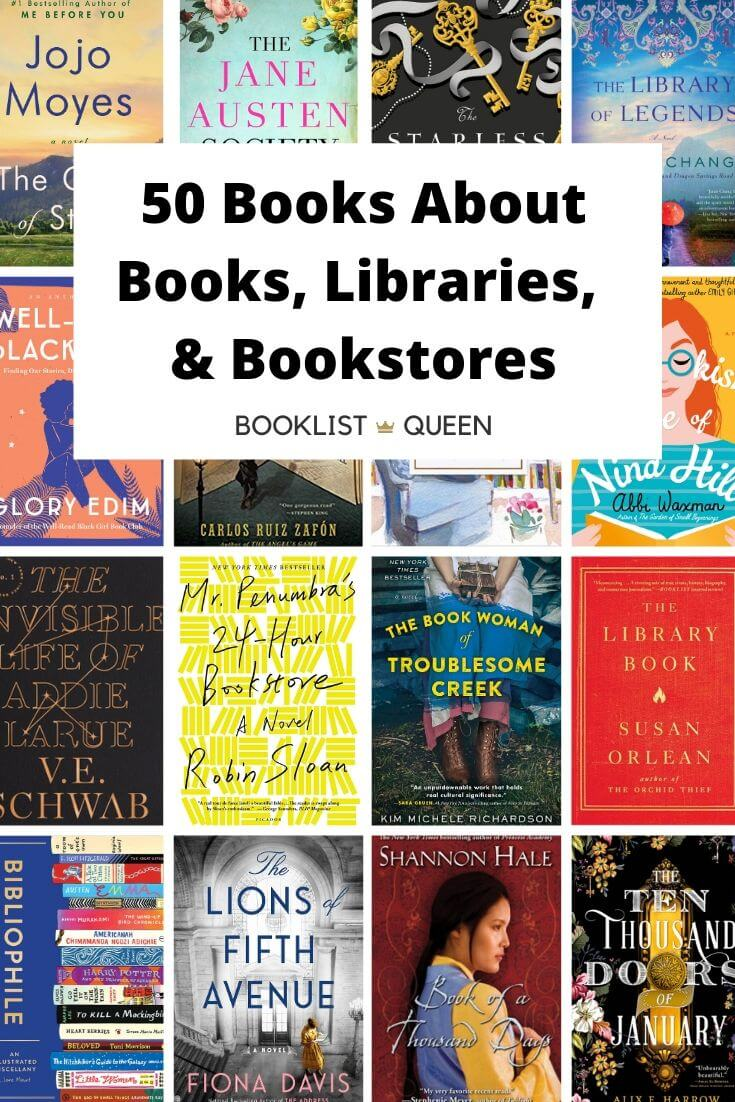 Books About Bookstores, Books, and Libraries