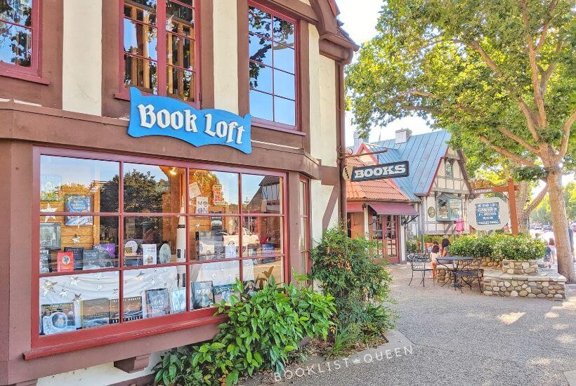 Book Loft Bookstore in Solvang, California