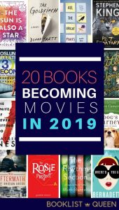 20 Books Becoming Movies in 2019