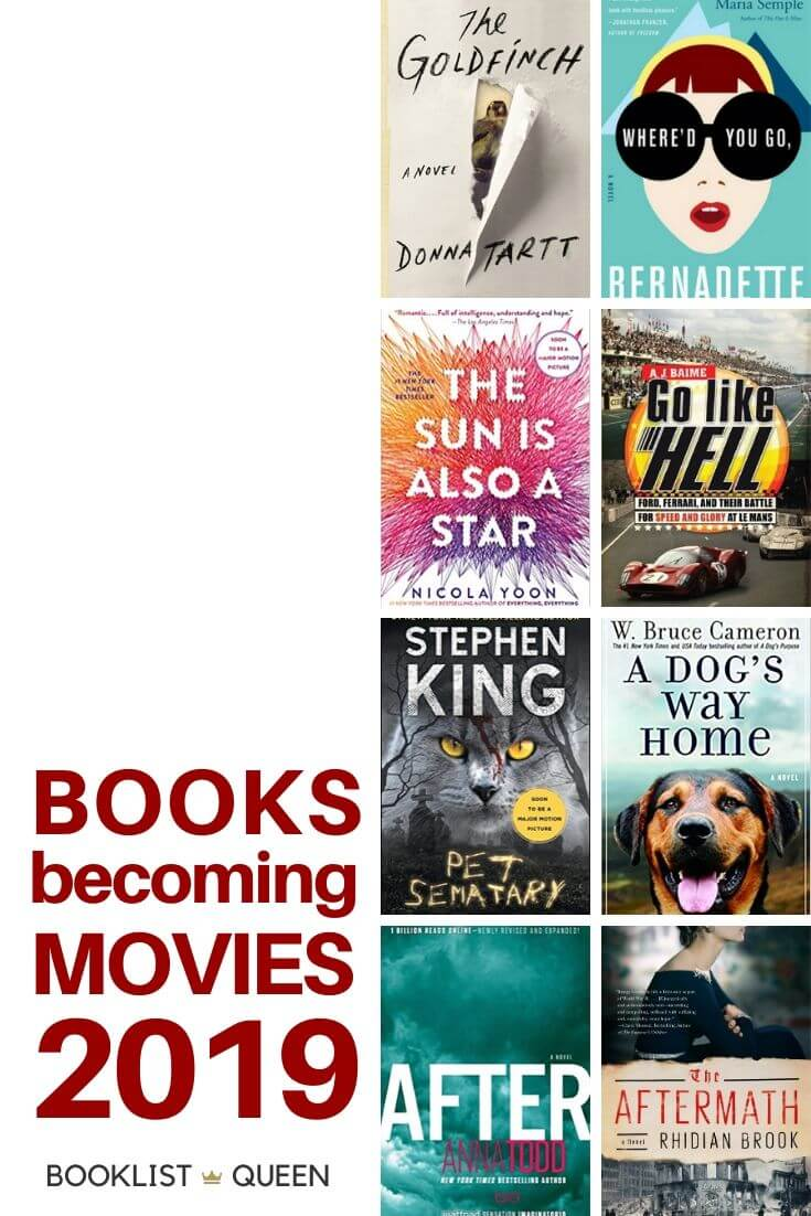 Books Becoming Movies in 2019