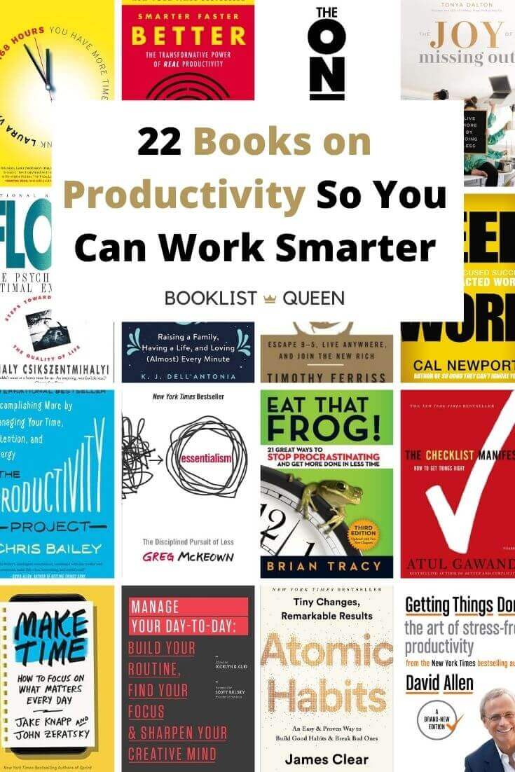 22 Books on Productivity So You Can Work Smarter
