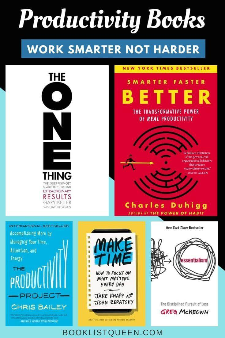Productivity Books: Work Smarter Not Harder with These Books on Productivity