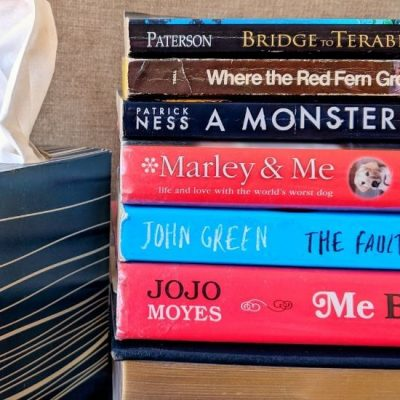 Books That Make You Cry, Tissue box