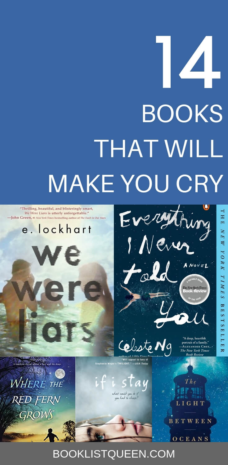 14 Books That Will Make You Cry
