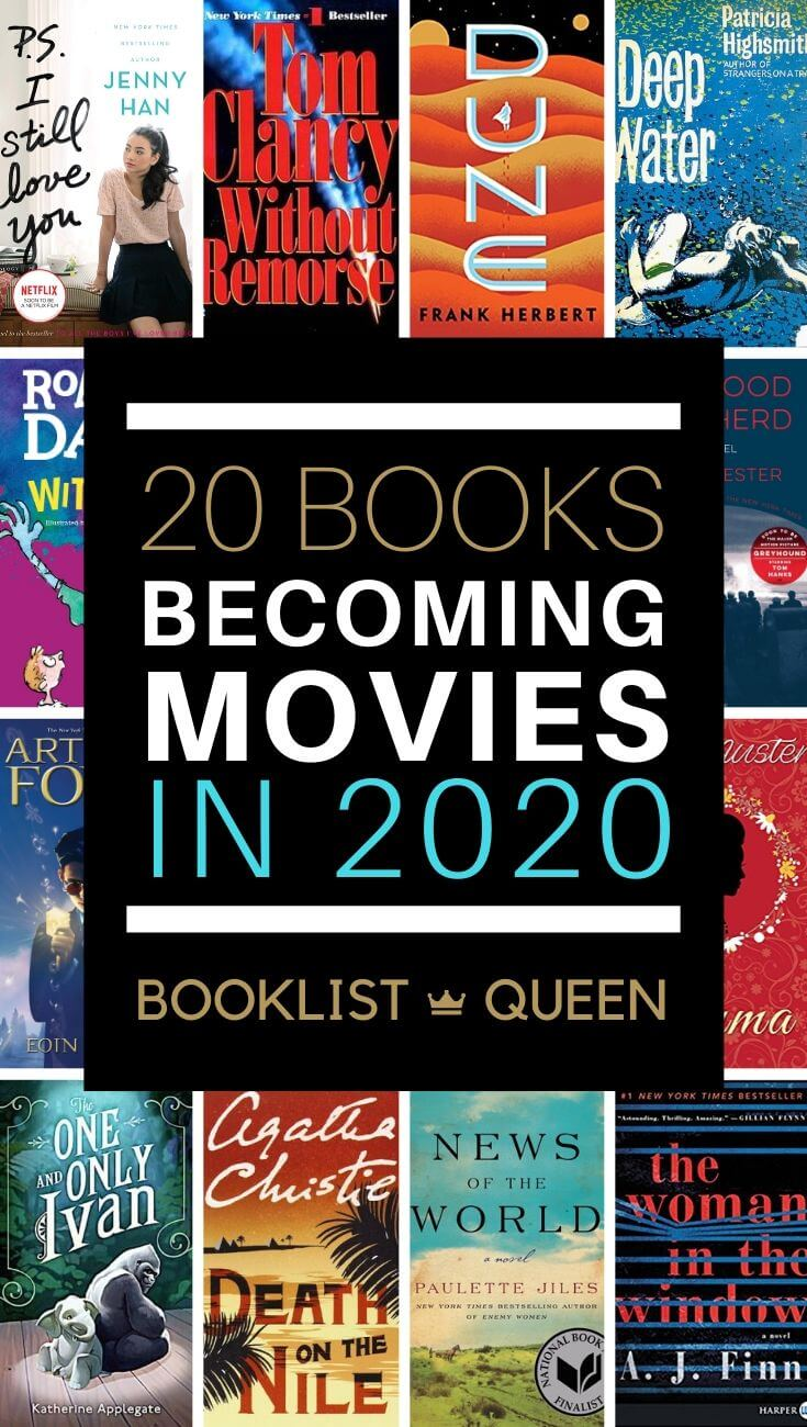 20 Book to Movie Adaptations in 2020