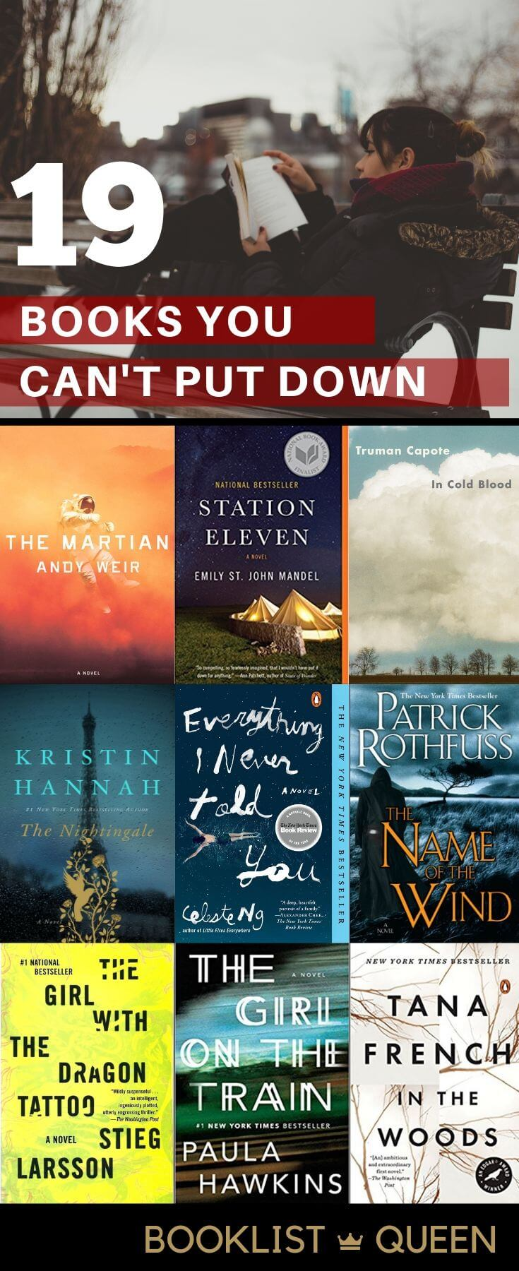 19 Books You Can't Put Down