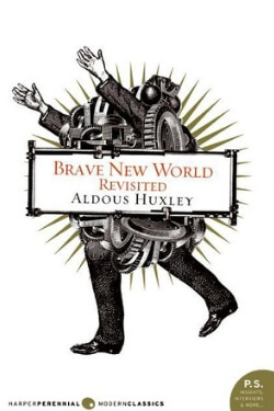 book cover Brave New World by Aldous Huxley