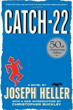 book cover Catch-22 by Joseph Heller