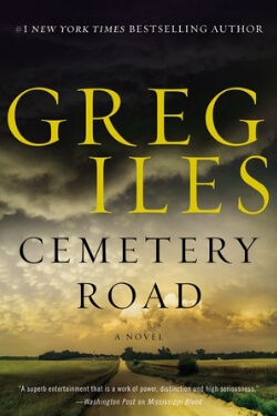 book cover Cemetery Road by Greg Iles