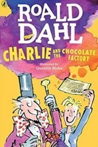book cover Charlie and the Chocolate Factory by Roald Dahl
