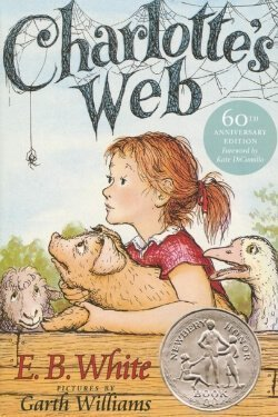 book cover Charlotte's Web by E. B. White