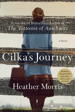 book cover Cilka's Journey by Heather Morris