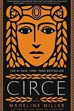 book cover Circe by Madeline Miller