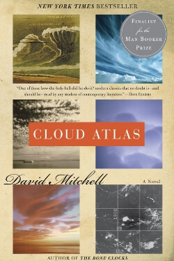 book cover Cloud Atlas by David Mitchell