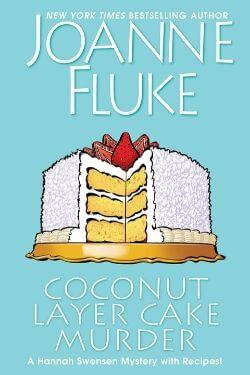 book cover Coconut Layer Cake Murder by Joanne Fluke