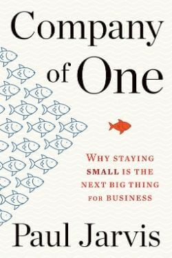book cover Company of One by Paul Jarvis