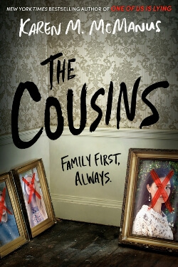 book cover The Cousins by Karen M. McManus