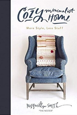 book cover Cozy Minimalist Home by Myquillyn Smith