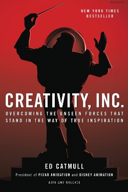book cover Creativity Inc by Ed Catmull