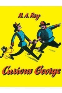book cover Curious George by H. A. Rey