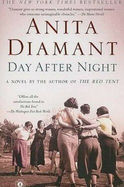 book cover Day After Night by Anita Diamant