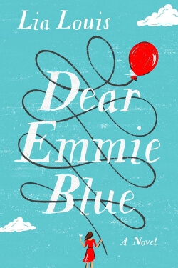 book cover Dear Emmie Blue by Lia Louis