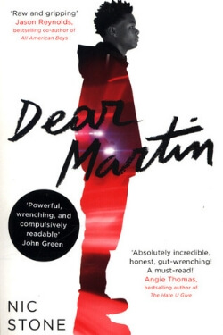 book cover Dear Martin by Nic Stone