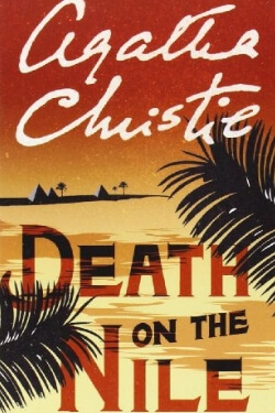 book cover Death on the Nile by Agatha Christie