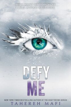 book cover Defy Me by Tahereh Mafi