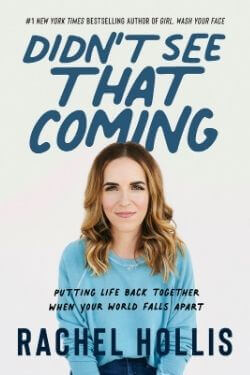 book cover Didn't See That Coming by Rachel Hollis