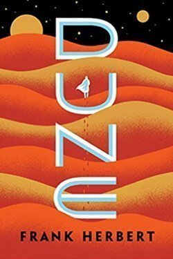 book cover Dune by Frank Herbert