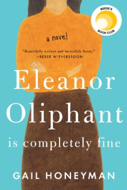 book cover Eleanor Oliphant is Completely Fine by Gail Honeyman