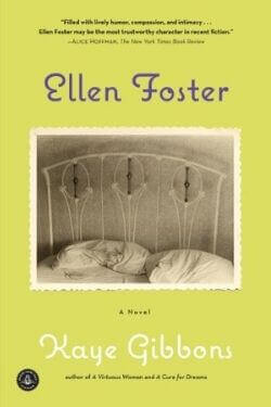 book cover Ellen Foster by Kaye Gibbons
