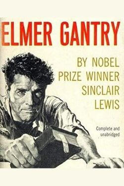 book cover Elmer Gantry by Sinclair Lewis
