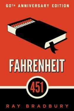 book cover Fahrenheit 541 by Ray Bradbury