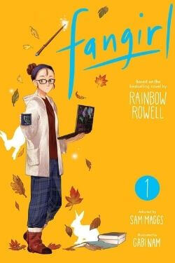 book cover Fangirl Volume 1 by Rainbow Rowell