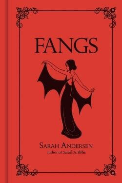 book cover Fangs by Sarah Andersen