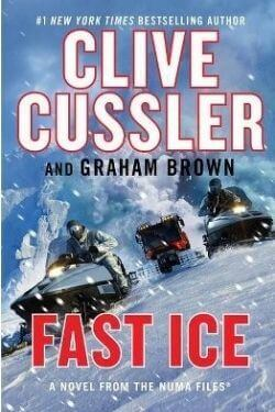 book cover Fast Ice by Clive Cussler by Graham Brown