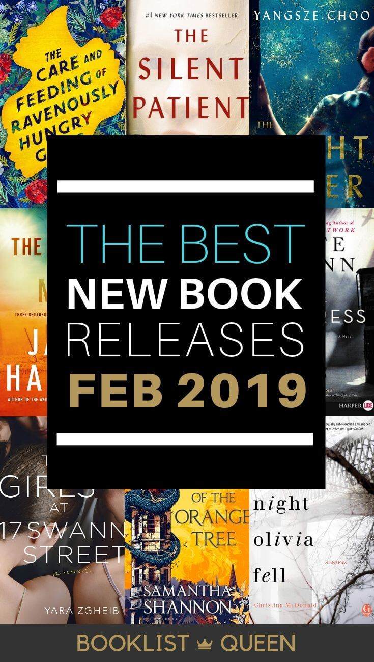 February 2019 Book Releases