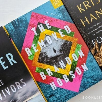 February 2021 Book releases - The Survivors, The Removed, The Four Winds