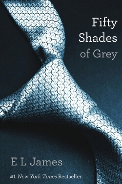 book cover Fifty Shades of Grey by E. L. James