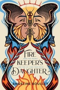book cover Firekeeper's Daughter by Angeline Boulley