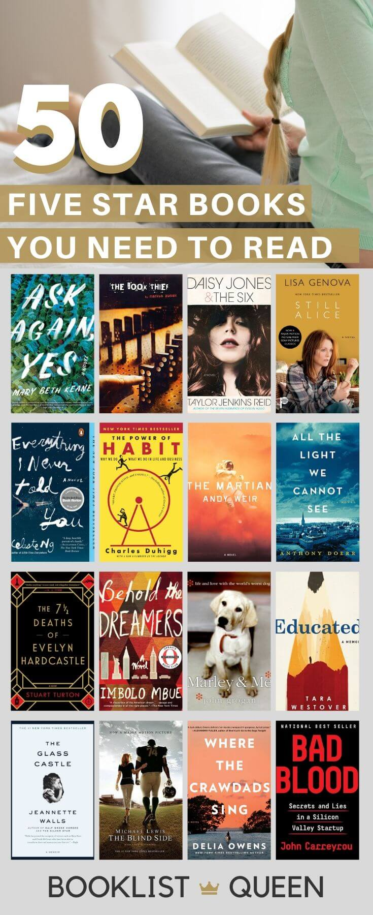 50 Five Star Books You Need to Read
