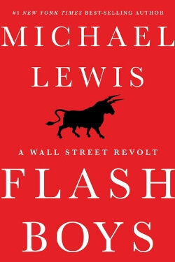 book cover Flash Boys by Michael Lewis