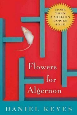 book cover Flowers for Algernon by Daniel Keyes