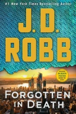 book cover Forgotten in Death by J. D. Robb