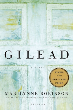 book cover Gilead by Marilynne Robinson